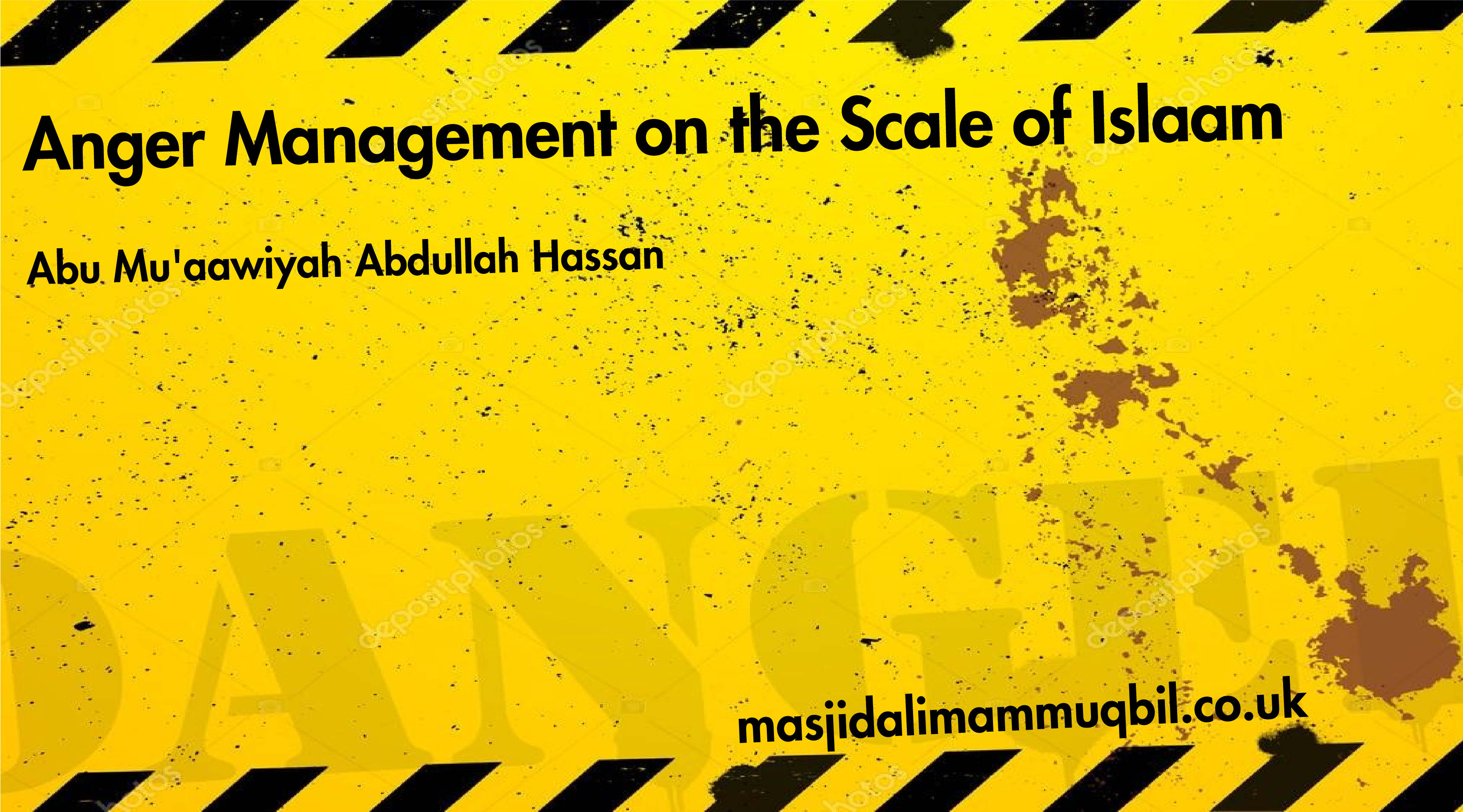 Anger Management on the Scale of Islaam